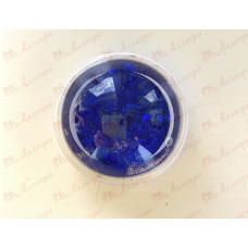Держатель для телефона (попсокет) объемный КРУГ, цвет Синий