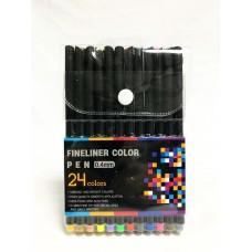 Ручки-линеры, набор 24 цвета